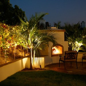 La Jolla landscape and outdoor lighting