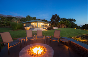 Perfectly Light Up Your Outdoor Fire Pit with a San Marcos, CA Outdoor Lighting Design
