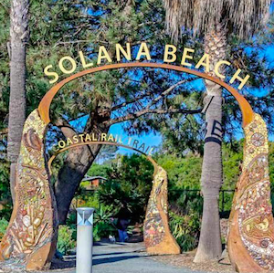 Solana Beach CA Landscape lighting