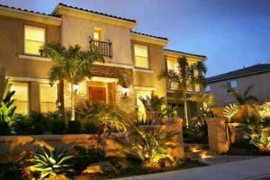 Exterior Landscape Lighting