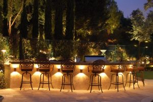 outdoor living landscape lighting