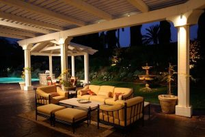 outdoor living lighting