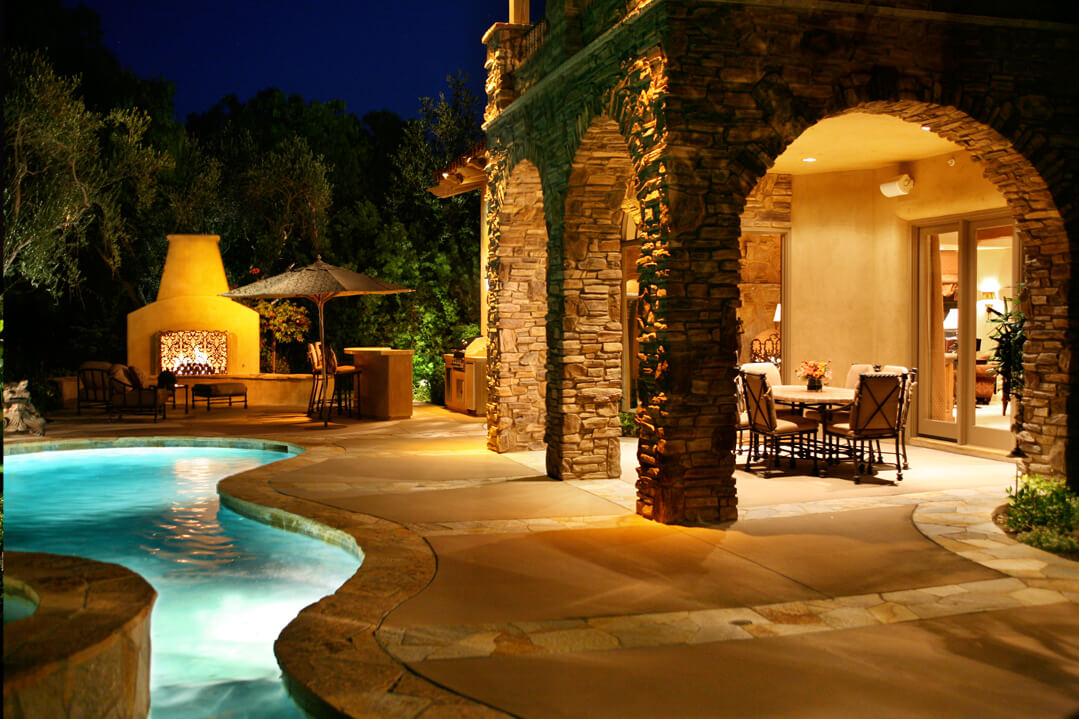 Patio Pool Lighting
